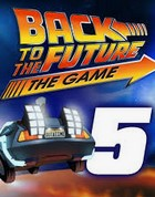Постер игры Back to the Future: The Game. Episode 5: Outatime ПК